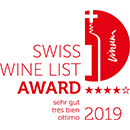 Swiss Wine List Award 2019
